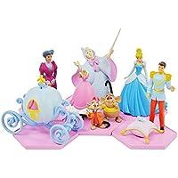 LA CENICIENTA Collection SET COMPLETO 6 Figuras de Colleccion DIORAMA - 100% ORIGINAL Tomy DISNEY Cinderella