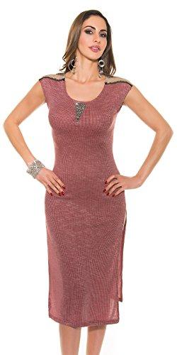 In-Stylefashion - Robe - Femme rouge rouge foncé taille unique rouge foncé