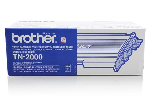 Original Brother TN-2000 Toner Black für Brother Fax 2820