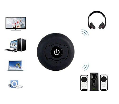 BW BWH366T V4.0 Multi-Point Car Audio Bluetooth Freisprecheinrichtung Wireless Music Receiver MIC Aux Stereo-Adapter für Autos Mobiltelefon