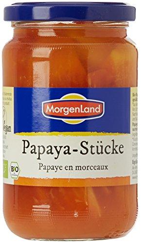 Morgenland Papaye en Morceaux Bio 350 g