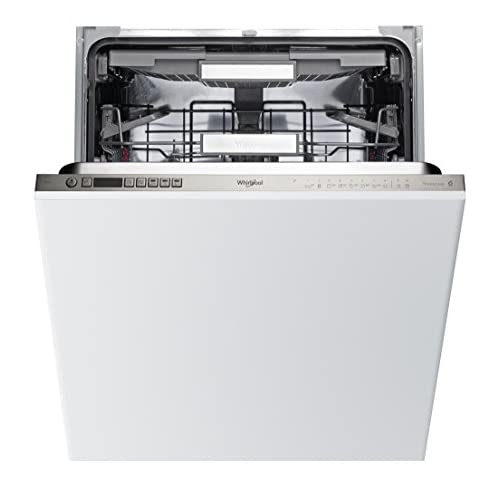 41BgegVhraL. SS500  - Whirlpool WIO3T123PEFUK Fully Integrated Standard Dishwasher - Stainless Steel Control Panel with Fixed Door Fixing Kit