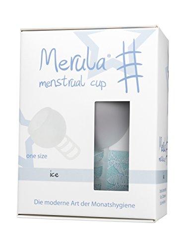 Merula Cup ice (klar) - Menstruationstasse aus medizinischem Silikon