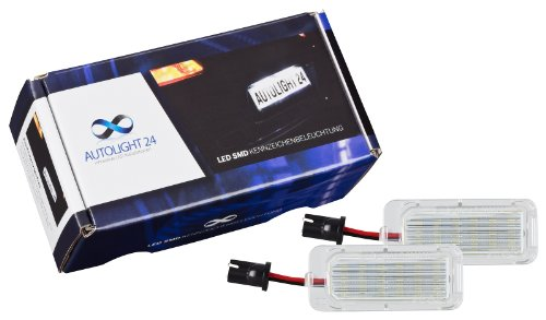 autolight24-703-luce-targa-a-led-per-ford-fiesta-ja8-mk7-dal-modello-2008-ford-focus-da3-mk2-5-porte