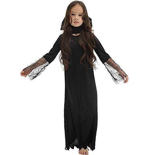 Erwachsene Für Tierarzt Kostüm - HSKS Halloween-Kostüm, Mönchshowsatz des kleinen Mädchens-M