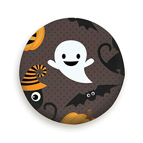s Ghosts Animals Holidays Tire Cover Camping Potable Polyester Universal Spare Wheel Covers for Trailer RV SUV Truck Camper Travel Trailer Accessories(14,15,16,17 Inch) 14inch ()