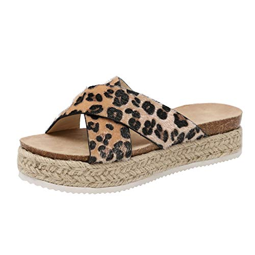 Plain Wellies (KonJin Women's Fashion Casual Thick-Bottom Slides Sandals Platform Beach Shoes Slippers Wedge Slip On Toe Post Sandals)