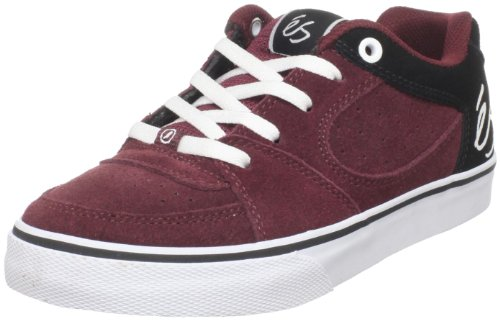 éS Square One Youth 5301000014 Unisex - Kinder Sneaker Maroon/Black/White