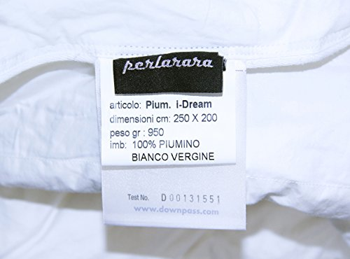 lowest price 1c927 dba20 MOLINA 100% PIUMINO D OCA SIBERIANO ULTRA BIANCO iDream ...