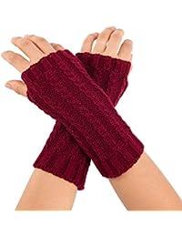 Damen-accessoires Outdoor Biker Weiche Lange Sleeve Finger Warm Arm Wärmer Handschuhe Regenbogen 1 Paar Armstulpen