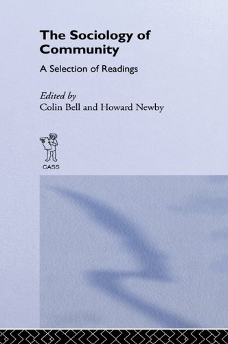 Sociology of Community: A Collection of Readings (New Sociology Library,)