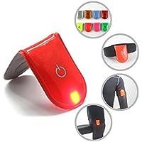 Bazaar LED Multi Funktionen Reflective Clip Multipurpose Reflektierende Licht PVC Material zufällige Farben