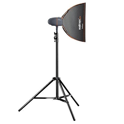 Walimex Pro Newcomer Studioset Starter 300 grau/orange