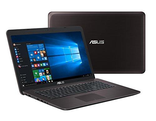 Asus F756UV-TY122T 43,94 cm (17,3 Zoll) Notebook (Intel Core i5-7200U, NVIDIA 920MX, 8GB Arbeitsspeicher, 128GB SSD/1TB HDD, DVD, Win 10) braun