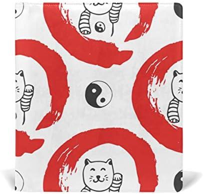 Malplena Yin Yang Cat école couvertures de livres Idéal pour l'école et cadeaux B07K9N4XSP | Durable En Usage