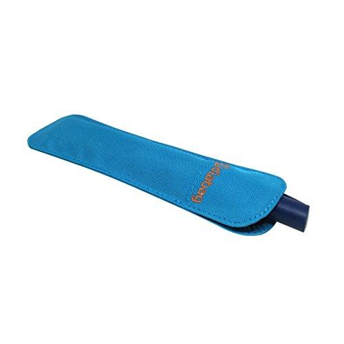 diabag Insulin Pen Tasche PENCASE cool Nylon, Zyanblau, 203-5 (Außenmaß 20 x 5,5 cm) WICHTIGE INFO: max. Penlänge 16 cm/1,5 cm Durchmesser
