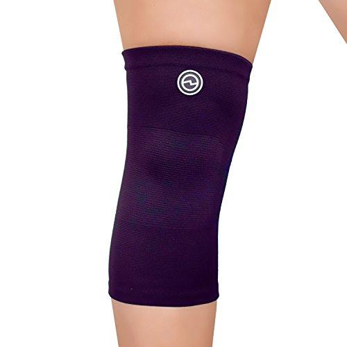Genouillère Sport - Soulagement, Stabilisation & Soutien Optimal du Genou - 4 Tailles Disponibles - Pour Hommes & Femmes