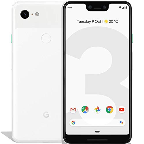 Google Pixel 3A XL 64 GB Smartphone Android 9.0 (3A XL, Clearly White)