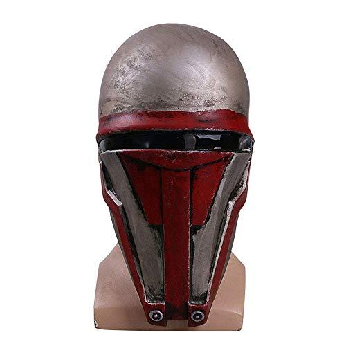 YaPin Star Wars Cos Sith Lord Darth Raven Maske Kopfbedeckung Film Halloween Umgebung (Besten Halloween-make-up Zu Kaufen Die)
