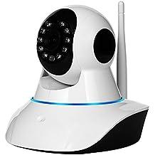 NexGadget IP Cámara HD WiFi Interior P2P Micrófono Altavoz Visión Nocturna Detección de