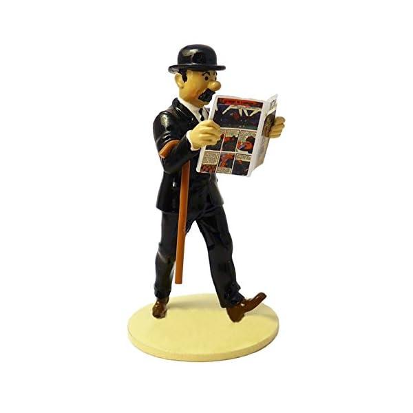 PIXI Figura Moulinsart de colección Hernández Lisez Tintin 46303 (2016) 2