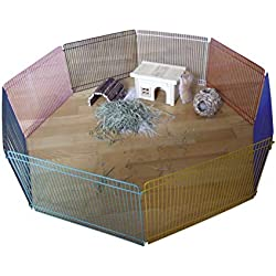 Kerbl Parque para hámsteres, 8 elementos de 34 x 23 cm