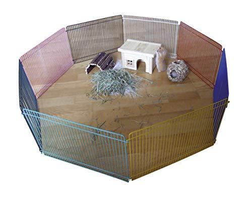 Kerbl Enclos pour Hamster 8 Pièces de 34x23 cm