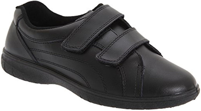 Boulevard - Chaussures à Scratch (Pied (Pied (Pied Large) - FemmeB00VUCK6SIParent | Bien Connu Pour Sa Fine Qualité  | Des Produits De Qualité,2019 New  328945