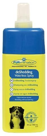 FURminator Anti-Haaren Trockenspray (für Hunde und Katzen), 250 ml (250 Thema)