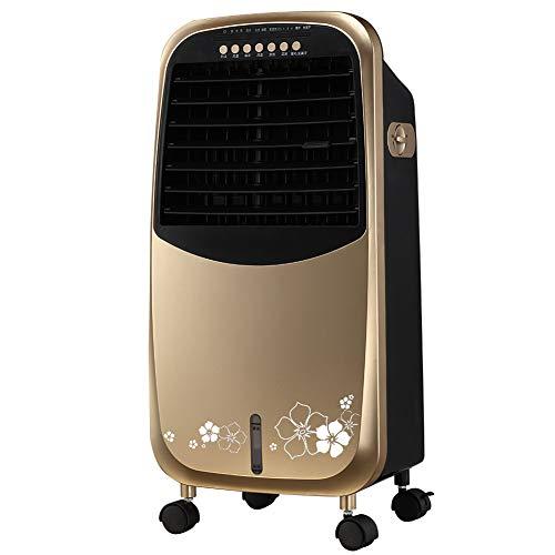 HAIPENG Mobile Tragbare Klimaanlage Klimagerät Luftkühler Lüfter 3 In 1 Mit Kühlung Heizung Ventilator Funktion Zeitliche Koordinierung Fernbedienung, 400m³/h