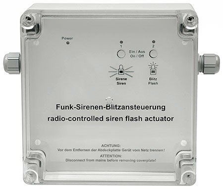 Preisvergleich Produktbild HomeMatic Funk-Sirenen- / Blitzansteuerung