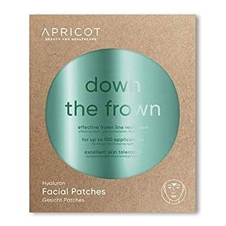APRICOT SKIN® Facial Patches / Parches antiarrugas faciales ¡Un método suave y duradero para la reducción de arrugas! 100 parches para la línea del entrecejo / frente