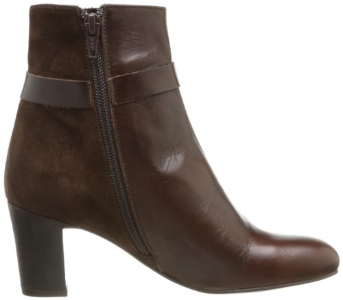 Jonak Don, Bottines femme Marron (Velours Marron)
