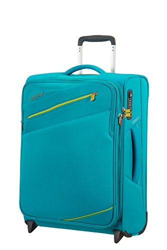american-tourister-pikes-peak-2-roues-55-20-extensible-bagage-cabine-55-cm-465-l-aero-turquoise