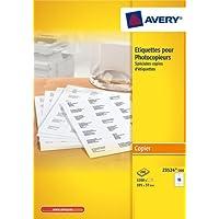 Avery Laser Labels, White 105 x 37,3 3200pc(s) self-adhesive label - self-adhesive labels (White 105 x 37,3, 105 x 37.3, 3200 pc(s)) -  Confronta prezzi e modelli