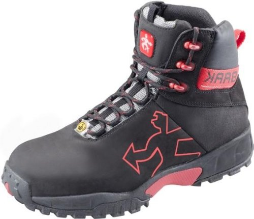Sicurezza BAAK stivali alti Robert Sports light S2P ESD scarpe BGR191Nero, 7374, Nero, 7374