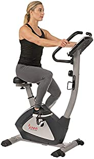 Sunny Health & Fitness Unisex Adult Sf-B2956 Endurance Zone Upright Bike - Grey, One