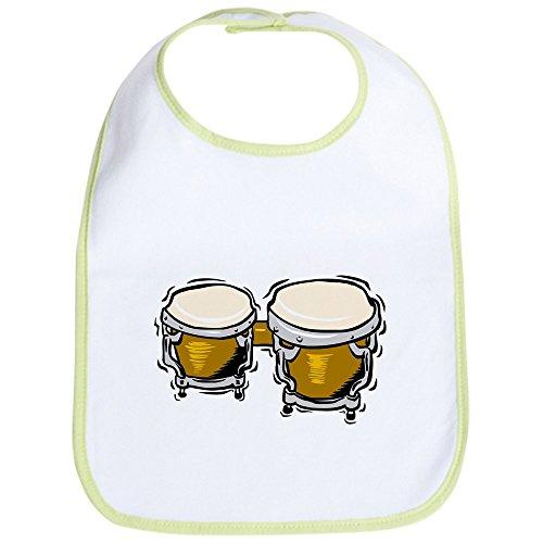 CafePress Bongo Drums Lätzchen, Grün
