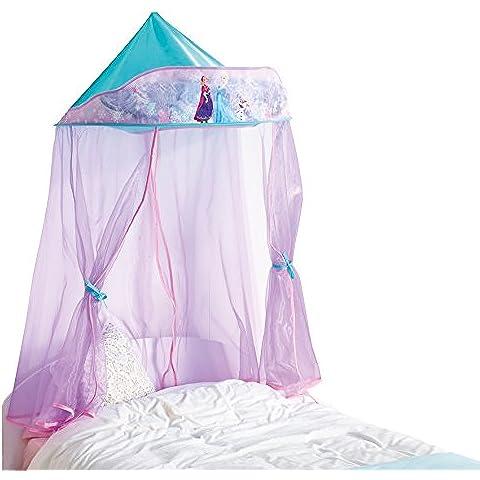 ReadyRoom 284FZN - Dosel para cama con diseño Frozen, color morado