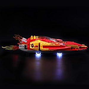 BRIKSMAX Kit di Illuminazione a LED per Lego Ninjago Katana V11,Compatibile con Il Modello Lego 70638 Mattoncini da… 0716852280414 LEGO