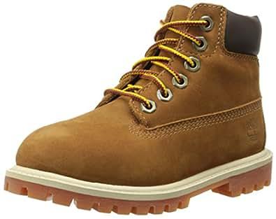 Timberland Herren, Klassische Stiefel, 6 in classic boot ftc_6 in premium wp boot, braun (marrone (braun (rust nubuck with honey))), 23,5 (7.5 uk)