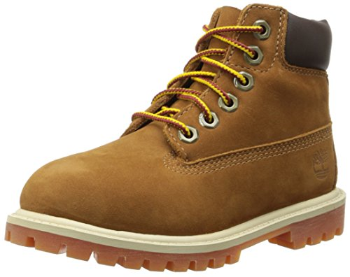 Timberland 6 In Classic Boot FTC_6 In Premium WP Boot 14949, Unisex-Kinder Stiefel, Braun (Rust Nubuck with Honey), EU 37 (US 4.5)