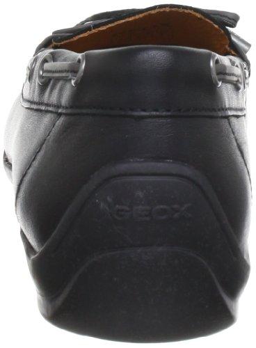 Geox - D Yuki A, Mocassini Donna Nero (Black C9999)