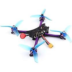Goolsky 215mm 5.8G 48CH 2-6S Blheli-S 800TVL Cámara FPV Racing Drone Kit de Bricolaje con Receptor Frsky XM + para Entrenamiento de competición
