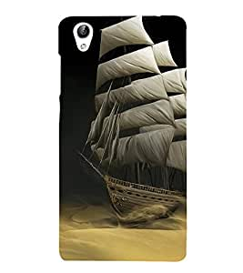 Sailboat wallpaper 3D Hard Polycarbonate Designer Back Case Cover for VIVO Y51L :: Y 51L