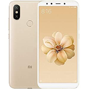 """Xiaomi MI A2 - Smartphone 5.9"""" (Qualcomm Snapdragon 660 a 2.2 GHz, RAM 4 GB, memory 64 GB, GBal chamber 12/20 MP, Android) Golden colour [Spanish version]"""