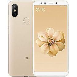 """Xiaomi MI A2 - Smartphone de 5.9"""" (Qualcomm Snapdragon 660 a 2.2 GHz, RAM de 4 GB, Memoria de 32 GB, cámara Dual de 12/20 MP, Android) Color Dorado [versión Global]"""