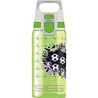 Sigg Jungen Trinkflasche SIGG VIVA ONE Football, Sport Trinkflasche, 0.5 L, Polypropylen, BPA Frei, Grün, Grün, 0.5 L, 8596.5