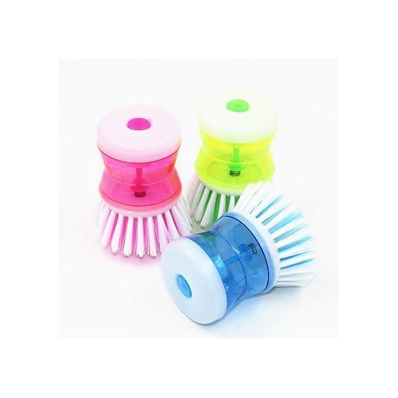 GT Gloptook Random Color Washing Pot Brush Kitchen Gadgets Wash Tool Pan Dish Bowl Brush Scrubber Glove Cleaning Brushes Cleaner
