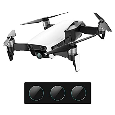 Camera Lens Protective Film for DJI Mavic Air Drone,Y56 Outdoor Ultra Thin Premium Tempered Glass Lens Screen Protector For DJI Mavic Air,3PCS by 5656YAO
